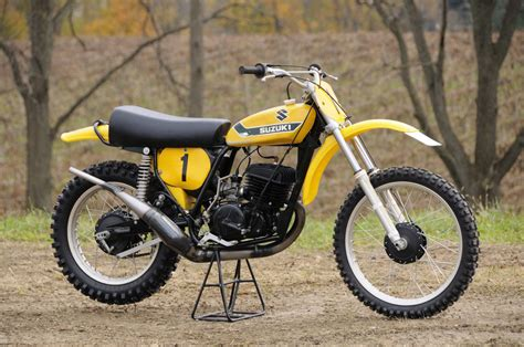 classic motocross bikes for sale roger decoster s 1973 suzuki rn73 works bike photo cd