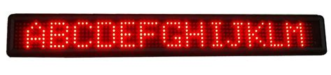 Led Display indoor led displays 1 line indoor led display 502mm