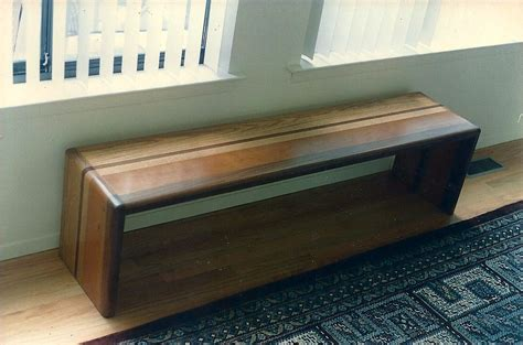 custom wood benches handmade combined wood bench by fred brandes custommade com