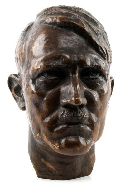 Falls And Busts Chin by Walter Wolff Bronze Bust Of Adolf 1933