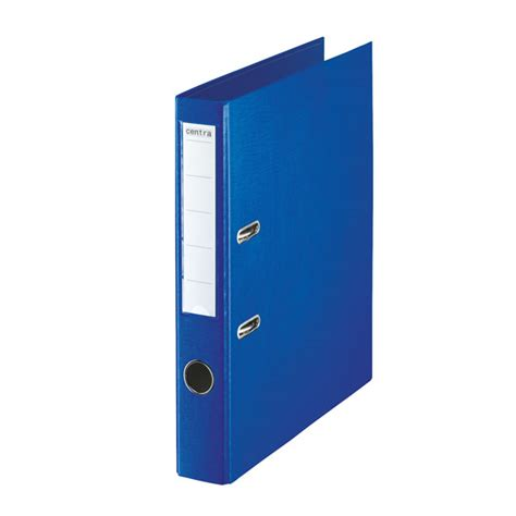 A4 Folder rvfm a4 folder lever arch file 50mm polypropylene blue