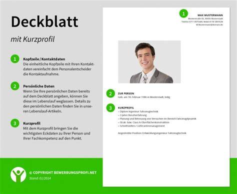 Lebenslauf Konstrukteur Beispiel Deckblatt Bewerbung Muster Und Hintergrundwissen Bewerbungsprofi Net
