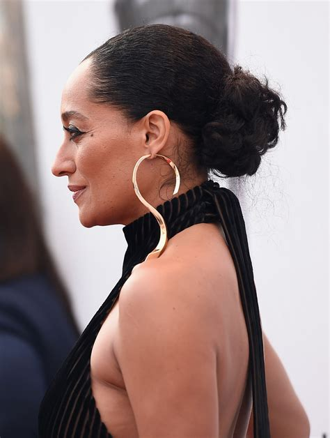 Tracee Ellis Ross Hairstyles by Tracee Ellis Ross Classic Bun Updos Lookbook Stylebistro