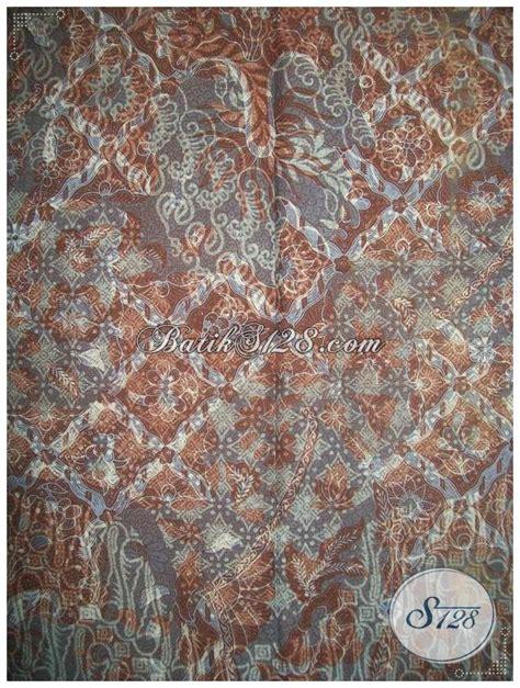 Kain Batik Bola Coklat kain batik warna coklat batik trendy cocok untuk seragam