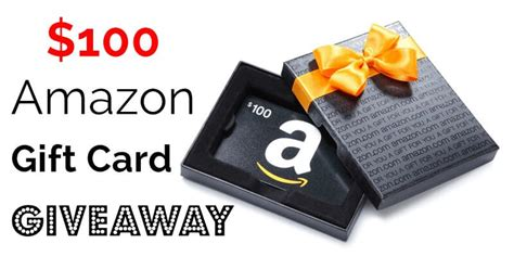 Order Amazon Gift Card - 100 amazon gift card giveaway oh lardy