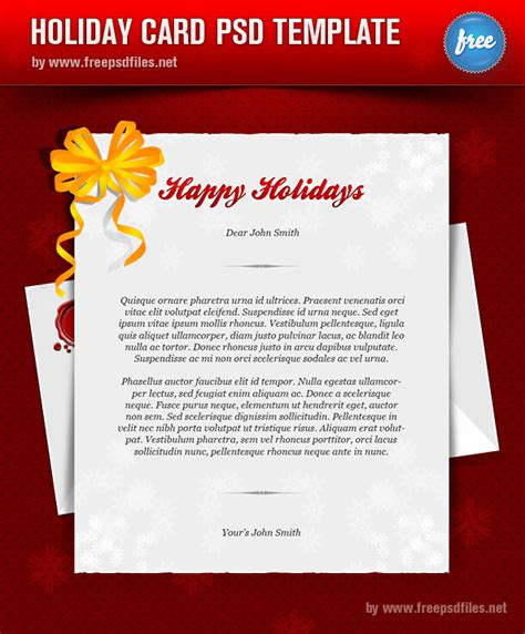 psd birthday card template 56pixels 187 happy holidays greeting card template psd