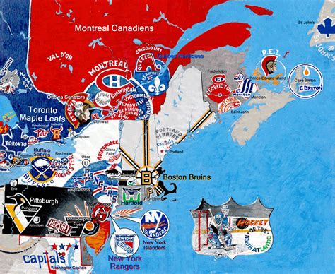 nhl map hockey nhl divisions billsportsmapscom invitations ideas