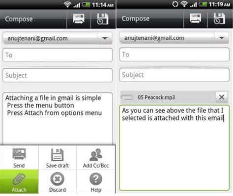 yahoo email en android android yahoo mail attachment