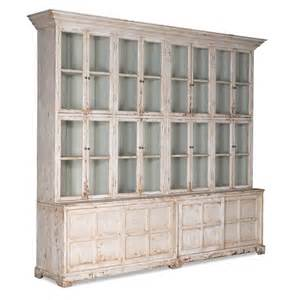 Large Rustic Chandeliers Grand Shabby Chic Glass Front Cabinet Distressed Antique
