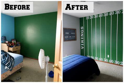 football room one room challenge boy s football bedroom reveal lemons lavender laundry