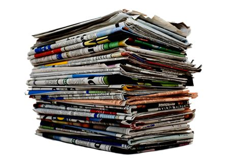 recycled newspaper just imagine one ton of recycled paper the word