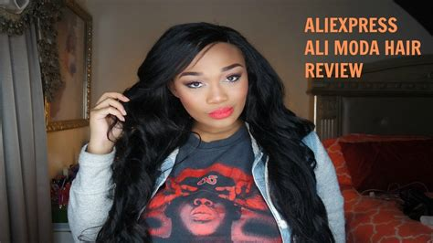 aliexpress hair reviews aliexpress ali moda hair review youtube