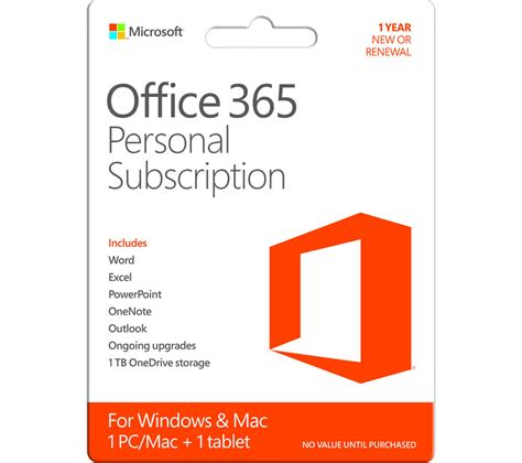 Microsoft Office 365 Personal Office365 buy microsoft office 365 personal free delivery currys