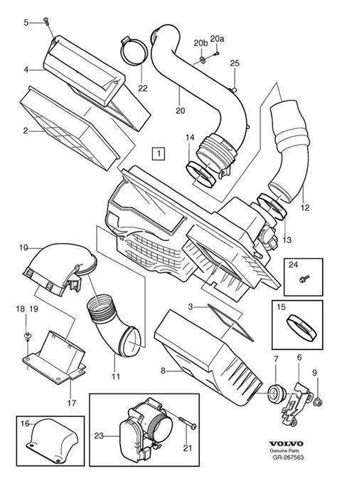 volvo   engine parts diagram projects   pinterest volvo    volvo