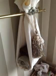 decorative bath towels with tassels diy decorative bath towel storage inspiration using two