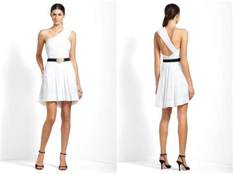 grecian inspired white wedding reception dress with black belt