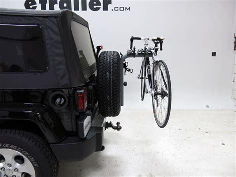 Jeep Bike Racks by Sportrack Spare Tire Bike Racks For Jeep Wrangler