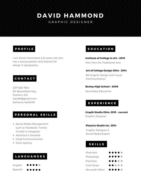 Diseña un currículum vitae gratis y en línea con Canva