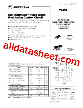 transistor e13007 datasheet pdf tl494 datasheet pdf motorola inc