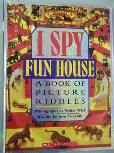 i spooky a book of picture riddles i books deals on 1001 blocks