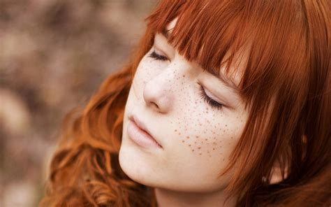 red headed woman freckles sweet redhead full hd wallpaper and background 1920x1200