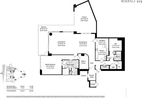 Condos Floor Plans by Asia Condo Floor Plans Brickell Key Miami Florida