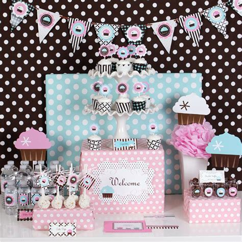 Baby Shower Themes Kits by Cupcake Baby Shower Ideas Baby Ideas