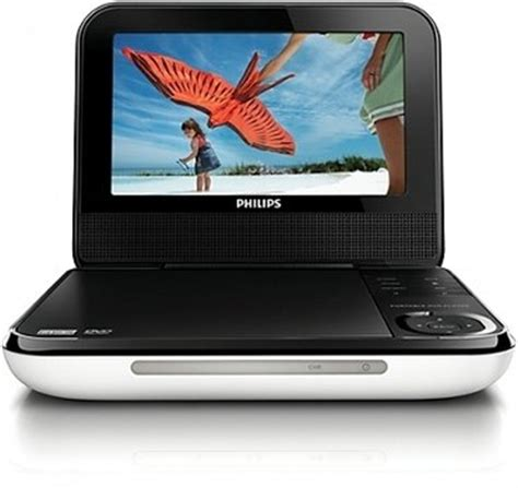 philips dvd player video format amazon com philips pd700 37 7 inch lcd portable dvd