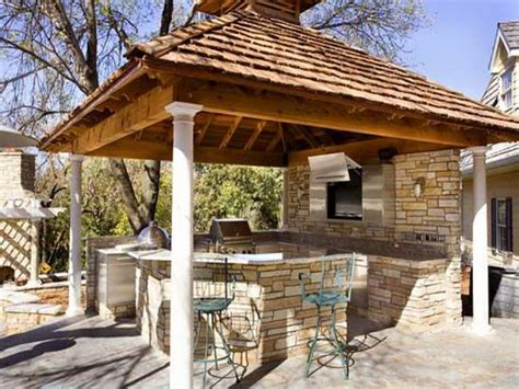 ideas for outdoor kitchen top 15 outdoor kitchen designs and their costs 24h site
