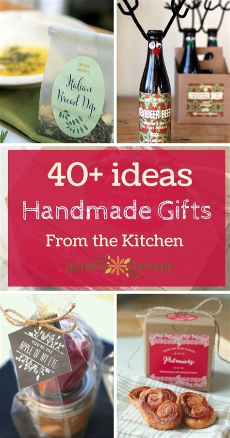 gifts from the kitchen ideas handmade kitchen gifts ebook