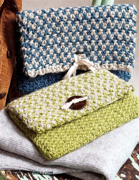 free knitted tote bag patterns clutch bag knitting pattern free
