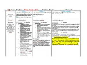 Social Skills Lesson Plan Template by View Larger Size