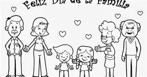 juegos de familia para colorear imprimir y pintar dia de la familia para colorear fam10 dibujos para