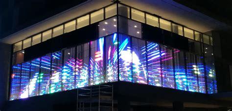 p dip  outdoor transparent led screen transparent
