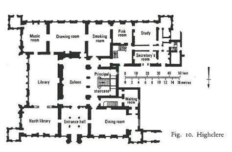 downton castle floor plan highclere castle floor plan the real downton