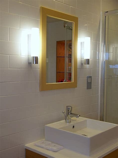 energy efficient bathroom lighting energy efficient tubular wall light