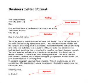 Business Letter With Letterhead Sample Format For Business Letter 7 Free Documents In Pdf Word