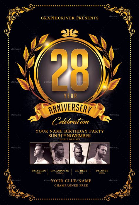 anniversary poster template anniversary poster template tire driveeasy co