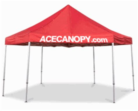 Ace Canopy Ace Canopy Custom Outdoor Canopies Available