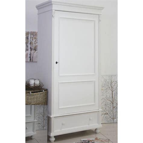 armadi shabby armadio legno bianco 1 anta armadi shabby chic