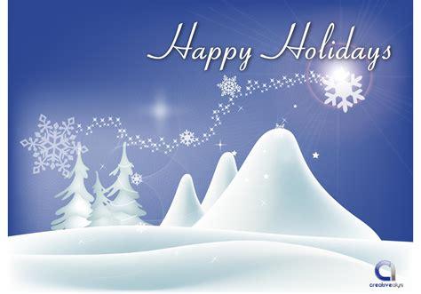 vector happy holidays wallpaper free vector