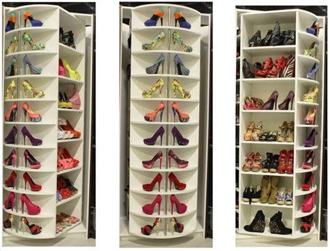 Design Ideas For Shoe Closet Organizer Interior Stylish Rotating Shoe Rack Designs Custom Decor Awesome Home Interior Decoration Ideas