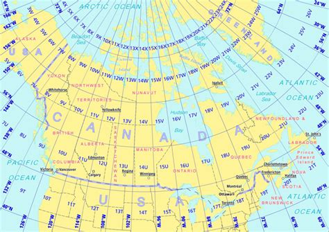 canadian map with coordinates how gps works in cccmaps road atlases