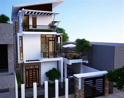 tre casa fachadas de casas de 3 pisos
