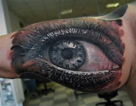 eyeball tattoos 57 expensive eye tattoos on arm