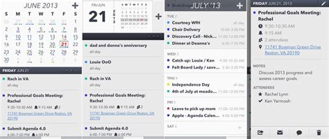 Calendar Agenda 10 Of The Best Apple Calendar Apps