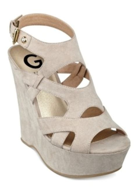 g by guess sandals guess g by guess s hizza platform wedge sandals