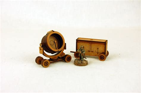 Wwii Search Ww2 Search Light Generator 28mm Laser Cut Mdf N035 Arcane Scenery And Models