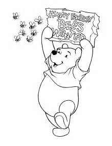 Coloring pages pooh alone winnie the pooh free printable coloring