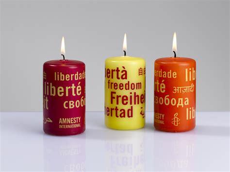 kerzen shop quot kerzen der freiheit quot amnesty international rot gelb orange